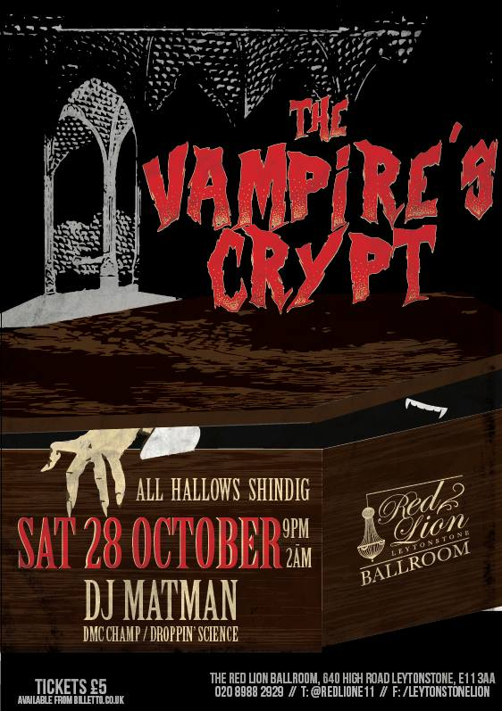 vampires crypt @ red lion